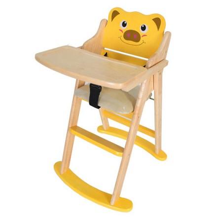 [베이비캠프]유아 식탁의자-피그케릭터/아기식탁의자