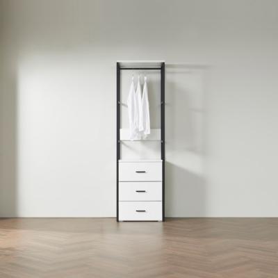 블린 드레스룸 600 서랍형 옷장