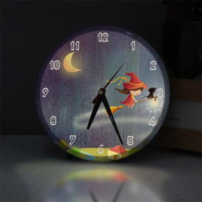 ng146-LED시계액자25R_소녀의꿈속여행D