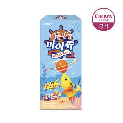 크라운 빙글빙글 마이쮸(딸기복숭아)