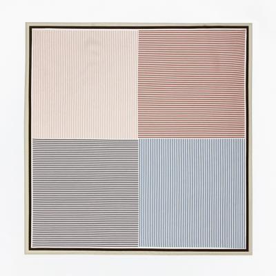 Stripe Four Square Petit Scarf
