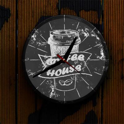 ng541-LED시계액자25R_커피하우스
