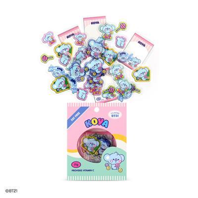 [BT21] 베이비 후레이크 스티커팩 JELLY CANDY