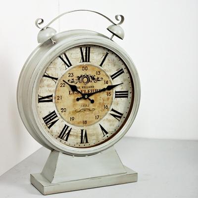 (kkjj309) 빈티지 대형탁상시계(민트)