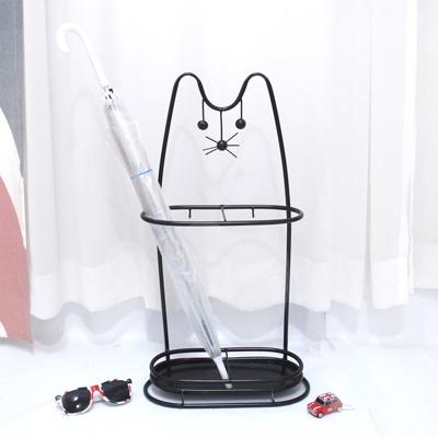앤틱고양이우산홀더