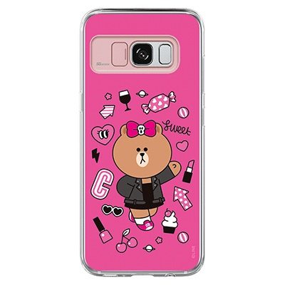 Galaxy S8/S8plus LINE FRIENDS CHOCO SWEET
