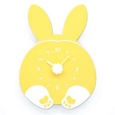 토끼 포동옹동이 벽시계