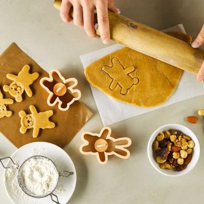 피나포레 아몬드를 품은 곰 통밀 쿠키 DIY 홈베이킹