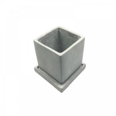 모던 시멘트 사각 8x8x8cm (사각) 세련된 감성 콘크
