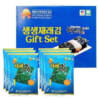 [해조]광천 생생 재래김 6봉