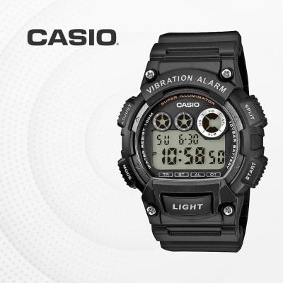 카시오 군인 군용 전자 빈티지 손목시계 W-735H-1A