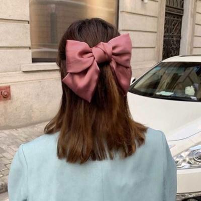 단아한 올림머리 스타일링 머리핀 집게핀 선택 핑크