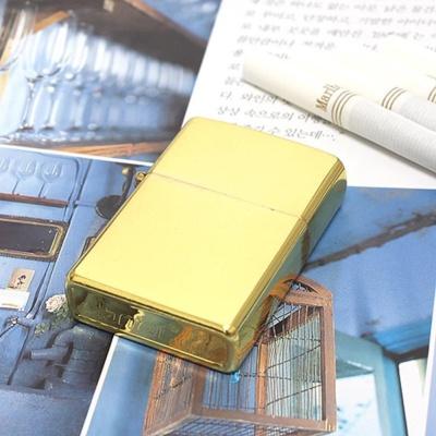 금장 메탈 흡연용품 지퍼 가스