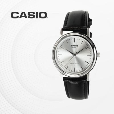 카시오 남성 남자 가죽 빈티지 손목시계 MTP-1095E-7A