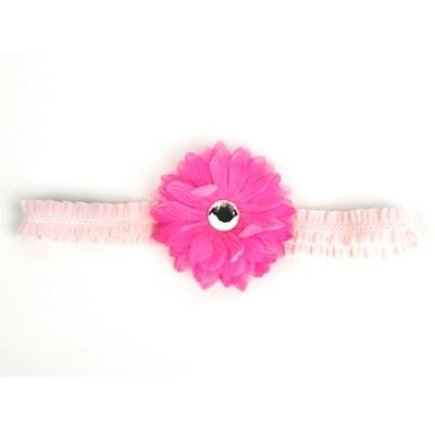 [헤어보우]Dahlia 베이비밴드-Pink