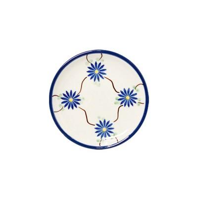 [폴란드그릇AT]262/103AX02 블루플라워 컵받침/소서