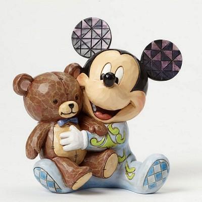 곰인형과 파자마 미키마우스 (4046060)
