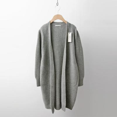 Laine Cashmere Wool Pocket Cardigan