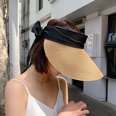 마인 자외선차단 라탄 왕골 밀짚모자 썬캡