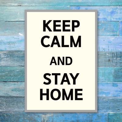 코로나 예방 포스터_026_KEEP CALM STAY HOME