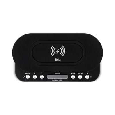 브리츠 무선충전 알람 시계 라디오 BZ-Q110 CR