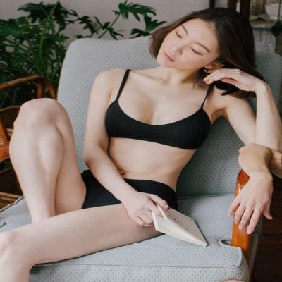 [울랄라파자마] 허그솔리드 라라렛+삼각팬티 SET (블랙)