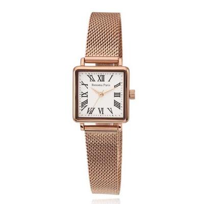 [레노마] 여성용메탈밴드 손목시계 로즈골드 RE-595RG