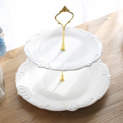 크라운 2단 케이크스탠드 케이크 스탠드