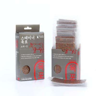 강아지보양식 STAMINA 강아지육포 소간 10개입