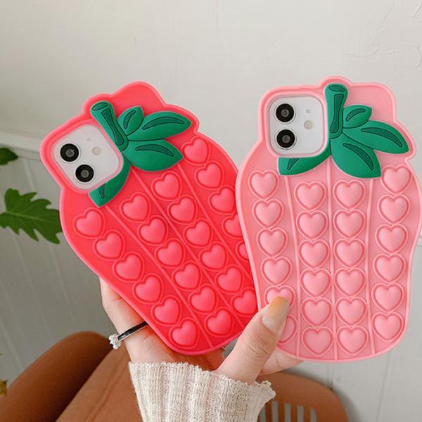 딸기딸기 푸시팝케이스(아이폰11프로맥스)