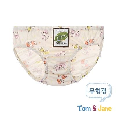 [탐앤제인]무형광 여아팬티_푸들