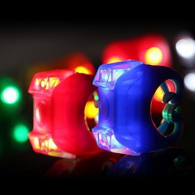 PH 자전거용 LED 실리콘 칼라 라이트(전조등 후미등)