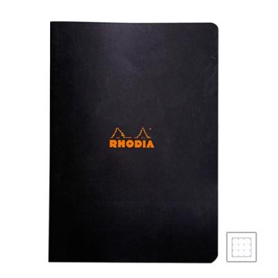 [로디아]클래식 스테플 노트 블랙 도트 A4