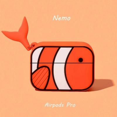 에어팟프로 3세대 니모 캐릭터 케이스 321 오렌지_pro