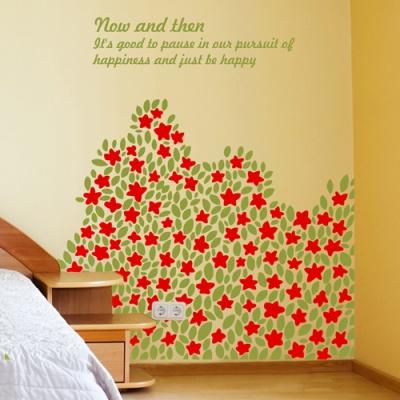 들꽃언덕 (작은꽃) - 반제품B타입 그래픽스티커