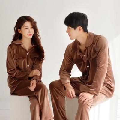 메리핀 남녀 울트라밍크 스판수면잠옷 파자마세트 3종