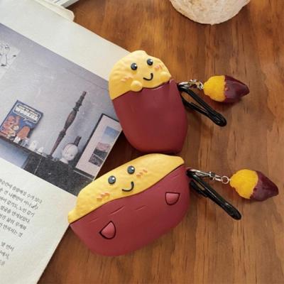 에어팟프로케이스 1 2 3세대 고구마 캐릭터 실리콘