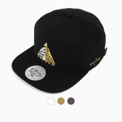 [디꾸보]트라이앵글 자수 스냅백 모자 ALL52
