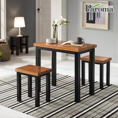 파로마 브런치 원목 2인 식탁 세트 HS031