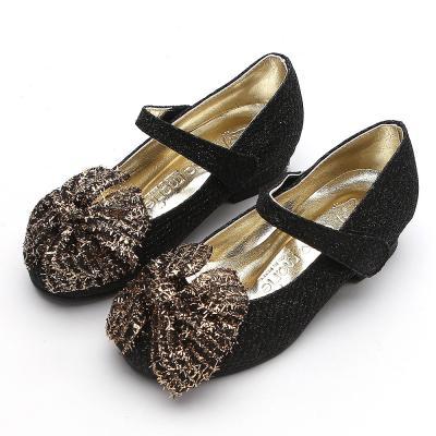 안나 체크리본 160-200 아동 키즈 여아용 구두 신발