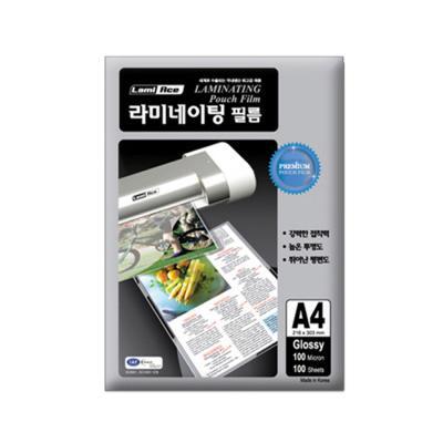 라미에이스 고급형 코팅필름 150MIC A4(100매)