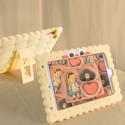 아이패드 7세대/air/pro/mini/쿠키 캐릭터 젤리케이스
