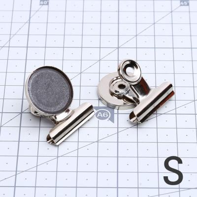 블독 자석 클립 집게S 냉장고 메모 꽂이 사무 문구