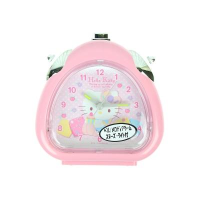 (일본직수입) 헬로키티 LED 알람 시계