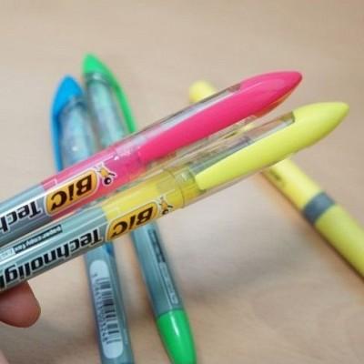 [BiC] 형광펜의 절대강자...프랑스 빅 테크노라이트 형광펜 1타스 A101s