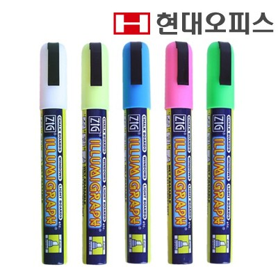ZIG 네온보드펜 [일제/5색] / 보드소모품