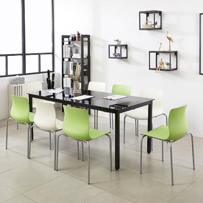 K33 스틸 1800 테이블 의자세트