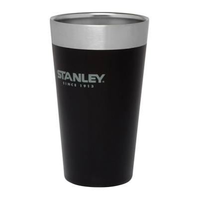 [STANLEY] 스탠리 스태킹 진공 파인트 473 블랙