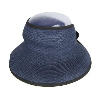 [디꾸보]썸머 라인 배색 썬캡 모자 DCH-JAN285
