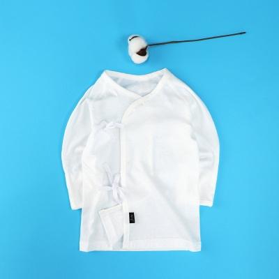 [조아뜨] 퓨어 편면 배냇저고리 크림 여름용